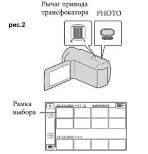 Видеокамера Sony HDR-PJ10E – функционал